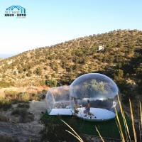 Cheap Lightweight Geodesic Dome Tent / Outdoor Clear Bubble Tent Without Frame for sale