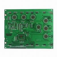 Cheap 2-layered LCD Rigid Board with gold plating finish for sale
