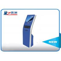 Buy cheap 17 inch automaticfreestanding kiosk touch queuing Customized Color from wholesalers