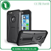 China Kickstand Tough Armor Screen Protector Cell Phone Protective Cases Three Layers on sale
