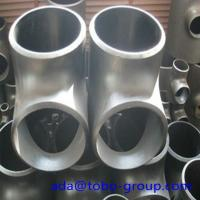 Cheap Stainless Steel Pipe Tee A403 Wp304L Straight Tee Asme B16.9 Size 1/2 - 60 inch for sale