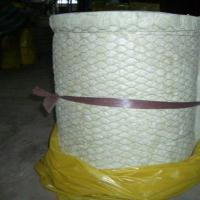 Cheap Rock wool blanket insulation with wire mesh for insulation for sale