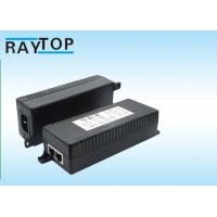 Cheap 12V / 24V / 36V / 48V POE Adapter Power Over Ethernet Input 100 - 240V AC 50 / 60Hz for sale