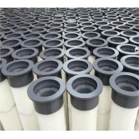 China Long Industrial Air Filter Cartridges / Dust Extractor Filter Cartridges on sale