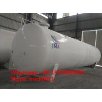 Cheap export model 65,000L 26MT bulk surface lpg gas storage tank for sale, 65m3 propane gas storage tank for Nigeria market for sale