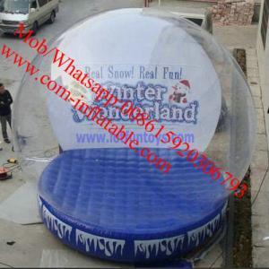 Cheap inflatable snow globe giant snow globe plastic snow globe giant inflatable snow globe for sale