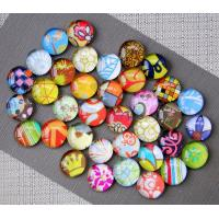 Cheap Crystal Glass Decorative Refrigerator Magnets Permanent Type Custom Color for sale