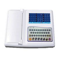 China 12 Channel Digital ECG Monitor  7 Inch Color LCD on sale
