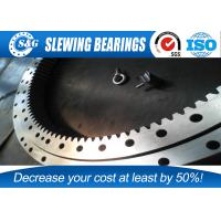 Cheap Single Row 4 Point Bearing Slewing Ring For Sewage Treatment Plant wholesale