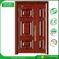 Cheap Made in China Single Leaf Stainless Steel Security Door Metal Doors Residential wholesale