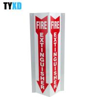 Cheap 3 Way Fire Extinguisher Sign Steel / Aluminium/ Plastic / Paper Type Available for sale