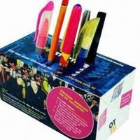 Cheap Amazing Pop-up Box Paper Pen Holder, Customized Colors are Accepted for sale