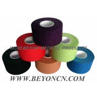Cheap Cotton Adhesive Rigid Black Sports Tape Athletic Trainer's Tape For Joint Protection wholesale