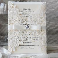 China design lace cut wedding invites cards greeting cards suppliers on sale