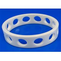 Cheap High Performance Machinable Zirconia Ceramic Rings Insulation 6.0g / cm3 Density for sale