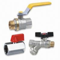 Cheap Brass Valve/Ball Valve, Heavy and Light Series are Available, OEM are Welcome for sale