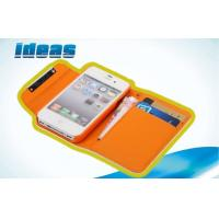 Cheap iPhone 4S iPhone 5 Wallet Leather Cases Cover with Card Slots for sale