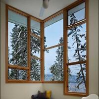 Cheap White/Grey/Grown/Black/Wooden Color Fixed Aluminum Window for sale