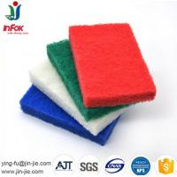 China Hot sale cheap professional production cleaning sponge &scouring pad for kitchen on sale