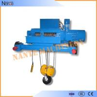 Double Girder Electric Wire Rope Hoist Winch Trolley for Chemical Industry