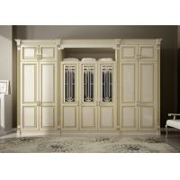 Cheap modern bedroom furniture good quality Italian style wooden wardrobe designs for sale