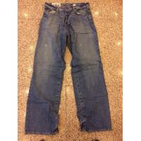 Cheap China excess men brand jeans discount Abercrombie & Fitch denim pants surplus stock lots for sale