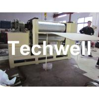 Cheap 0.5 - 12m/min Embossing Speed Plywood Panel Embossing Machine With Frequency Control for sale