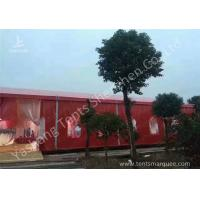 Cheap Popular Red Color 20m Width Luxury Wedding Party Tent Marquee with Top and Wall Curtains wholesale