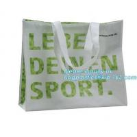 Low price recyclable plastic pp woven shopping bag manufacturers,Factory low price promotional PP laminated woven shoppi