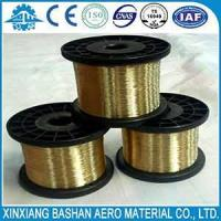 Cheap xinxiang  bashan  Wire  Spool  Brass  Hard  EDM  Brass Wire for sale