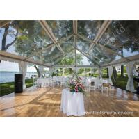Cheap Pretty Transparent Cover Outdoor Wedding Reception Marquee Solid Anodized Aluminum Profile wholesale