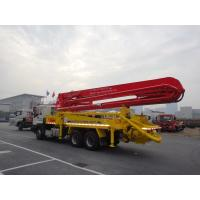 Cheap 6x4 Mobile 37m Concrete Pump Truck with Germany Rexroth Hydraulic System for sale