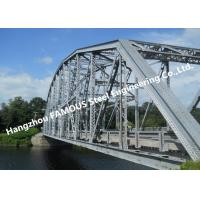 China Multi Span Single Lane Steel Box Girder Bailey Bridges Structural Formwork Truss Construction on sale