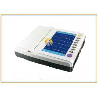 China Twelve Channel Portable ECG Machine 12 Leads Waveforms 10 TFT Color LCD Touch Screen on sale