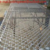 Cheap welded razor wire flat wrap coil /Welded Flat Razor Wire Mesh/Concertina Coil Wire/Welded Razor Mesh (high quality) for sale