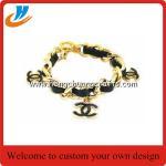 Cheap OEM Professional Wholesale metal Bracelet /soft or hard enamel process custom (BN005) for sale