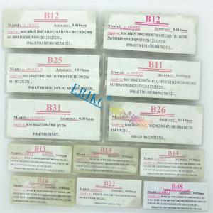 Buy cheap sealing washer B37 common rail injectors adjust shim washers and brake pad shim from wholesalers