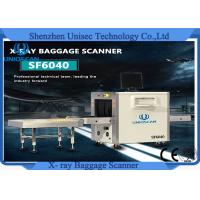 Cheap Dual Energy High quality tube X Ray Baggage Scanner Machine Checked Baggage For Bank , Hotel, Airport for sale