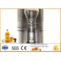 Cheap Automatic Apple Cider Vinegar Fermentation Equipment Different Size ISO9001 for sale
