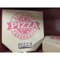 Cheap food box,eco friendly Lunch Pizza box,packaging paper box,Custom logo printed brown cheap kraft pizza box,printing paper for sale