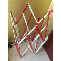 Cheap Four Sides Metal Folding Square Manhole 2500mm Expand Length For Isolation for sale