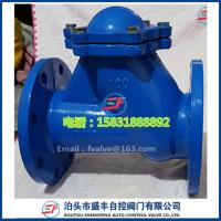 Cheap HQ41X Rolling-Ball Check Valve for sale