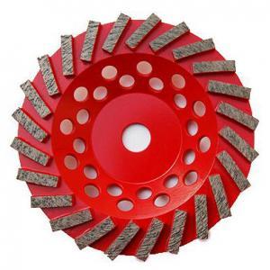 Cheap 7 inch Concrete Diamond Grinding Wheel | Swirl Grinding Diamond Cup Wheel for Concrete | Extra Soft Diamond cup Wheel for sale