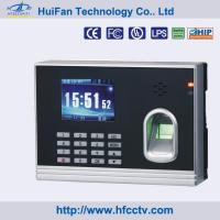 China Spanish/ English Fingerprint, RFID Card Time Clock with Free Software (HF-T8) on sale