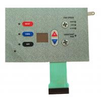 China IP65 LED Metal Dome Membrane Switch Perfect Exterior Pillow Embossed PET on sale