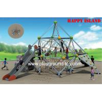 Cheap Outdoor Kids Climbing Equipment For Kids , Kids Garden Climbing Frames For Amusement Park for sale