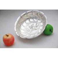 Cheap Fruit Stand / Dessert Pedestal/Best gift--Pure Silver Dish for sale