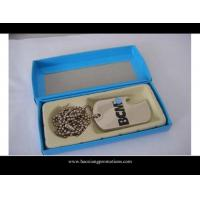 Cheap custom wholesale shape cheap blank engraved metal lovers dog tags for sale