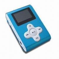 Cheap Digital MP3 Player, Supports MP3 Audio Formats and microSD Card, with OLED Screen for sale