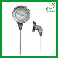 China Adjustable Angle Bimetal Thermometer on sale
